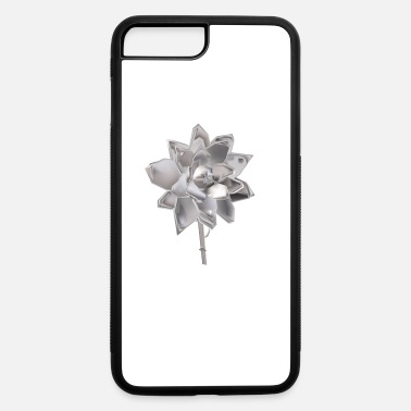Perspective Flower in Perspective - iPhone 7 Plus/8 Plus Rubber Case