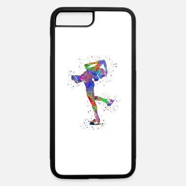 Ice Skate Ice skating, ice skating girl, ice skating woman - iPhone 7 Plus/8 Plus Rubber Case