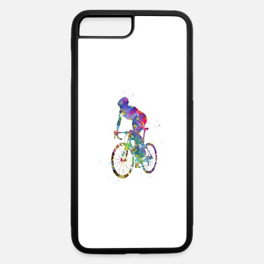 Sprinting Cyclist sprinting - iPhone 7 & 8 Plus Case