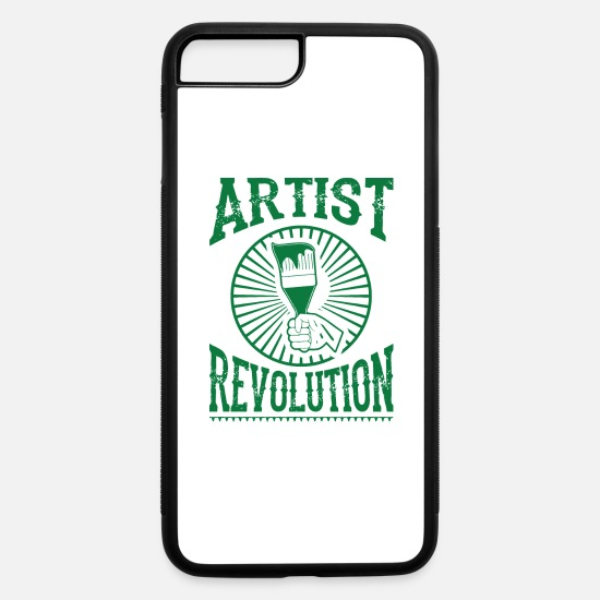 Artist iPhone Cases - Artist revolution - iPhone 7 & 8 Plus Case white/black