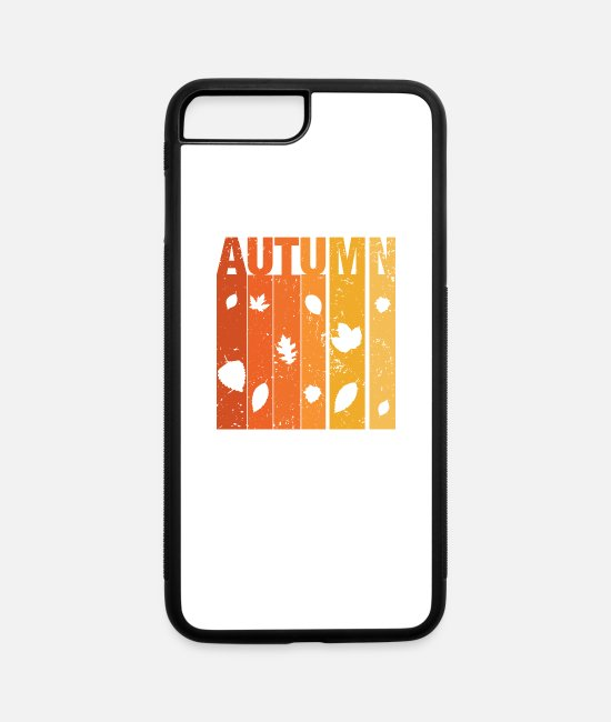 Hello Autumn iPhone Cases - Autumn - iPhone 7 & 8 Plus Case white/black