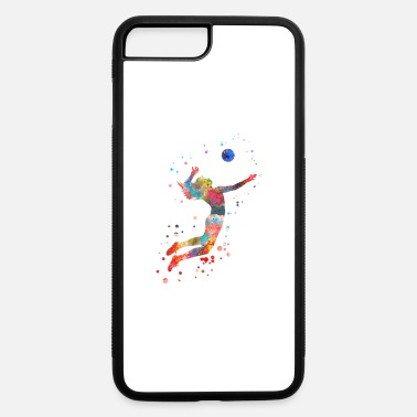 Girls Volleyball Volleyball girl - iPhone 7 & 8 Plus Case