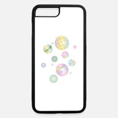 Childhood Pastel colored marbles in different sizes - iPhone 7 & 8 Plus Case