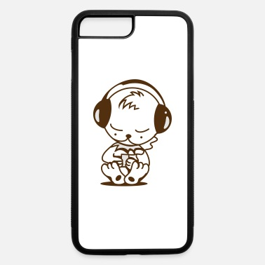 Mp3 Little bear with an MP3 Player - iPhone 7 & 8 Plus Case