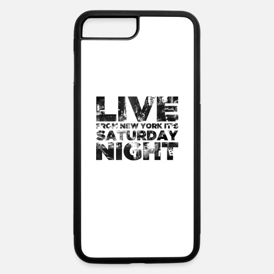 Saturday Night Live iPhone Cases - Live from NY - iPhone 7 & 8 Plus Case white/black