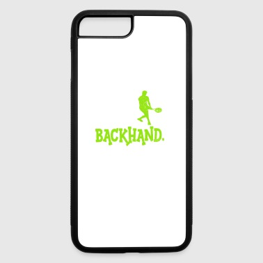 Eat Sleep Backhand Repeat Serving Tennis T Shirt - iPhone 7 Plus/8 Plus Rubber Case
