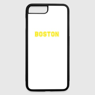 Boston Runners Running Marathon - iPhone 7 Plus/8 Plus Rubber Case