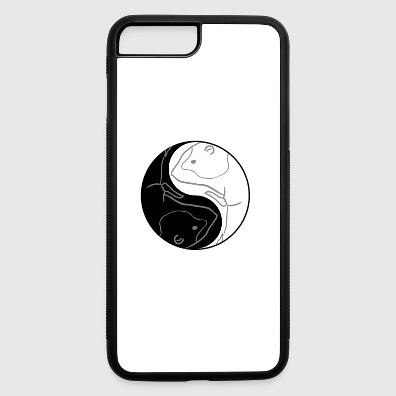 Yin Yang Guinea Pig Cute Chinese Tai Chi Symbol By Freshdressedtees