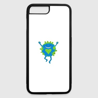 B Day No Planet B - Earth Day - iPhone 7 Plus/8 Plus Rubber Case