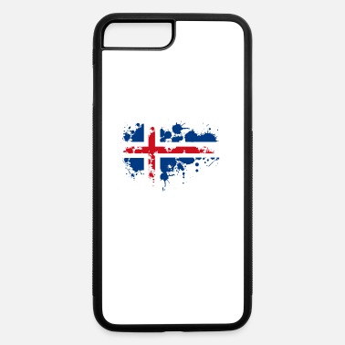 Scandinavia flag norwegian splash Europe scandinavia - iPhone 7 Plus/8 Plus Rubber Case