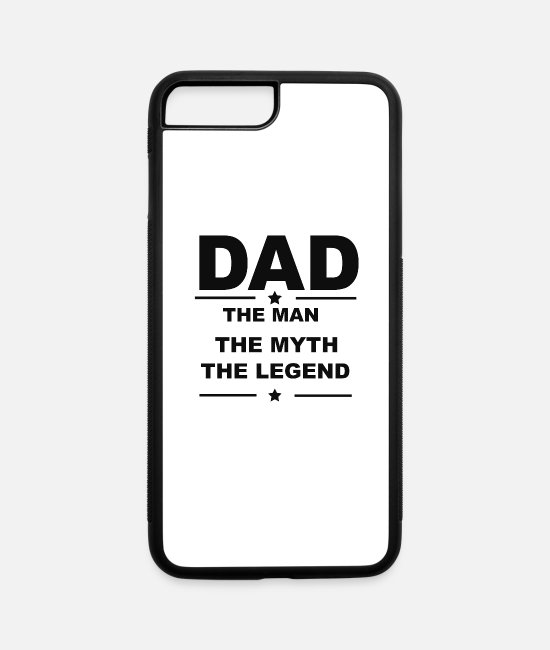 Teeing Off iPhone Cases - Dad Tee - iPhone 7 & 8 Plus Case white/black