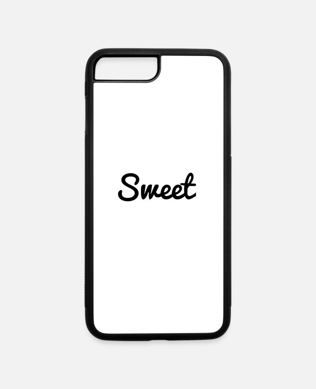 Sweetheart iPhone Cases - sweet - iPhone 7 & 8 Plus Case white/black