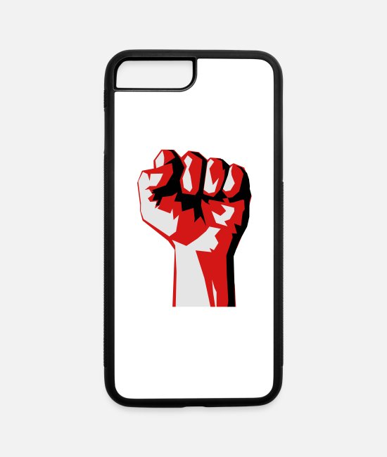 Punch iPhone Cases - Fist - iPhone 7 & 8 Plus Case white/black