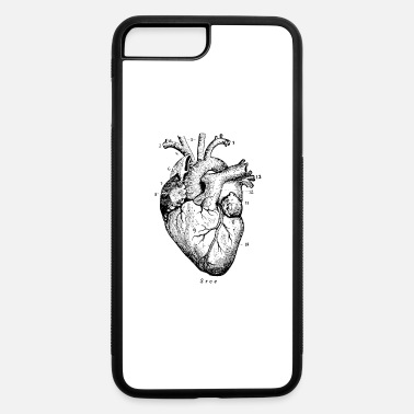 Heart Heart Illustration - iPhone 7 & 8 Plus Case
