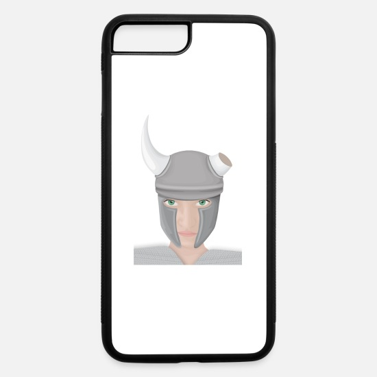 Viking iPhone Cases - viking - iPhone 7 & 8 Plus Case white/black