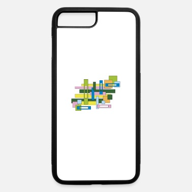 Rectangle abstract rectangles - iPhone 7 Plus/8 Plus Rubber Case