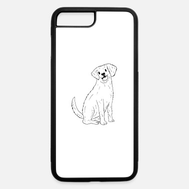 Cute Golden Retriever A Cute Golden Retriever Design - iPhone 7 & 8 Plus Case
