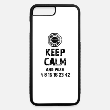 Prison Keep Calm and Push 4 8 15 16 23 42 - iPhone 7 & 8 Plus Case