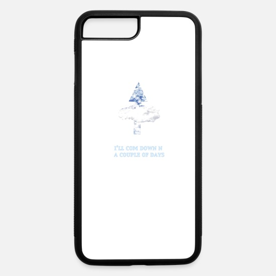 Skies iPhone Cases - Up Up & Away - iPhone 7 & 8 Plus Case white/black