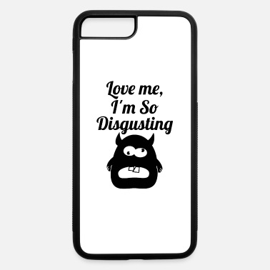 Disgusting disgusting blak - iPhone 7 & 8 Plus Case