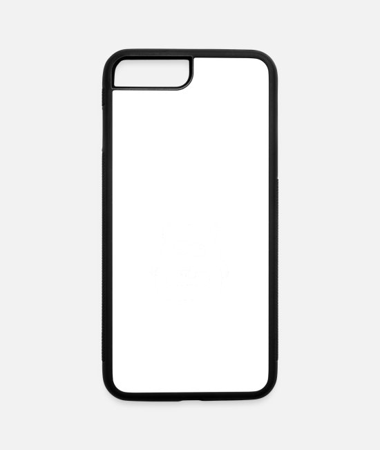 Hipster iPhone Cases - disgusting wite - iPhone 7 & 8 Plus Case white/black
