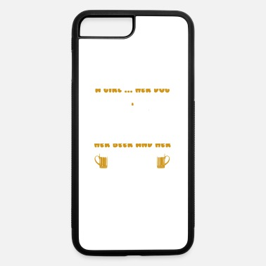Herring A Girl Her Dog Her Beer And Her Jeep - iPhone 7 & 8 Plus Case