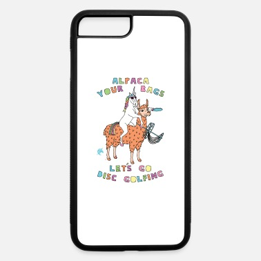 Golf Alpaca Your Bags Let s Play Disc Golf Unicorn - iPhone 7 & 8 Plus Case