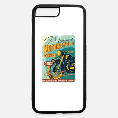 Motorcycle Motorcycle - iPhone 7 Plus/8 Plus Rubber Case