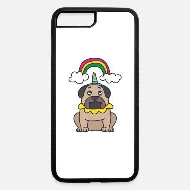 Hassel Free Pug Wannabe Unicorn - iPhone 7 & 8 Plus Case