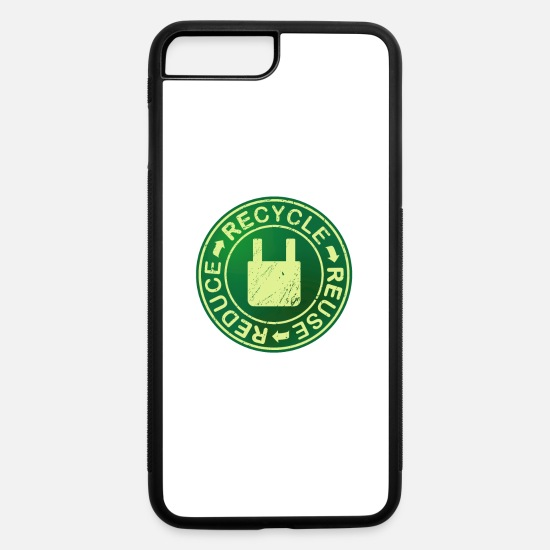 Friends iPhone Cases - Eco friendly recycle,reuse,reduce environment. - iPhone 7 & 8 Plus Case white/black