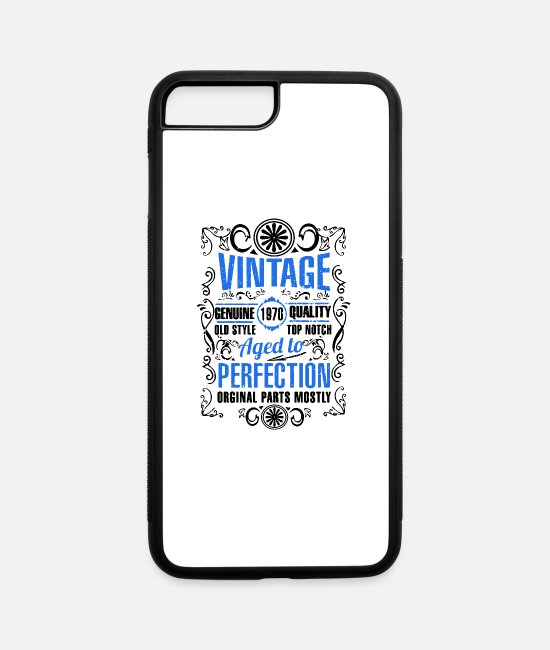 Laying iPhone Cases - 50th Birthday - iPhone 7 & 8 Plus Case white/black