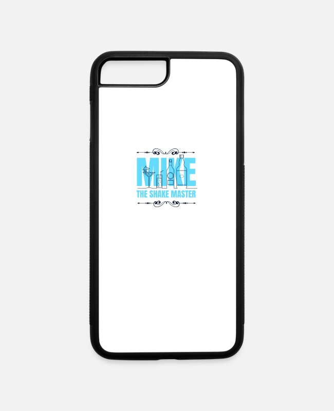Cute iPhone Cases - Mike The Shake Master - iPhone 7 & 8 Plus Case white/black