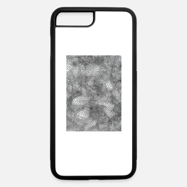 Painting Micro lines round shape design - iPhone 7 & 8 Plus Case