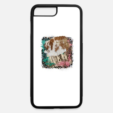 Pattern Leopard Cowhide Glitter Background Design - iPhone 7 & 8 Plus Case