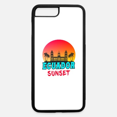 South America Ecuador Sunset / Gift South America - iPhone 7 Plus/8 Plus Rubber Case