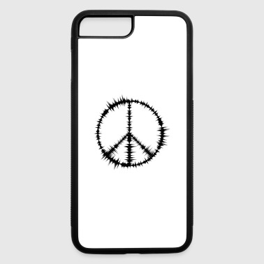 Peace Sign - iPhone 7 Plus/8 Plus Rubber Case