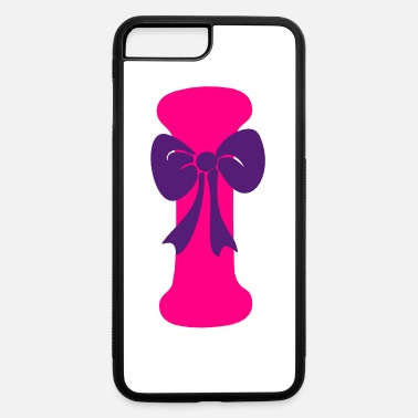 Hepatitis B-liver Cancer-hbv-breast Cancer ❤✔Alphabet I with a Purple Ribbon✔❤ - iPhone 7 & 8 Plus Case