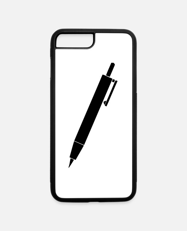 Stylo iPhone Cases - Pen - iPhone 7 & 8 Plus Case white/black