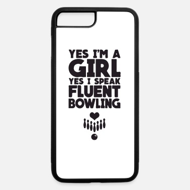 Luck yes i m a girl yes i speak - iPhone 7 & 8 Plus Case