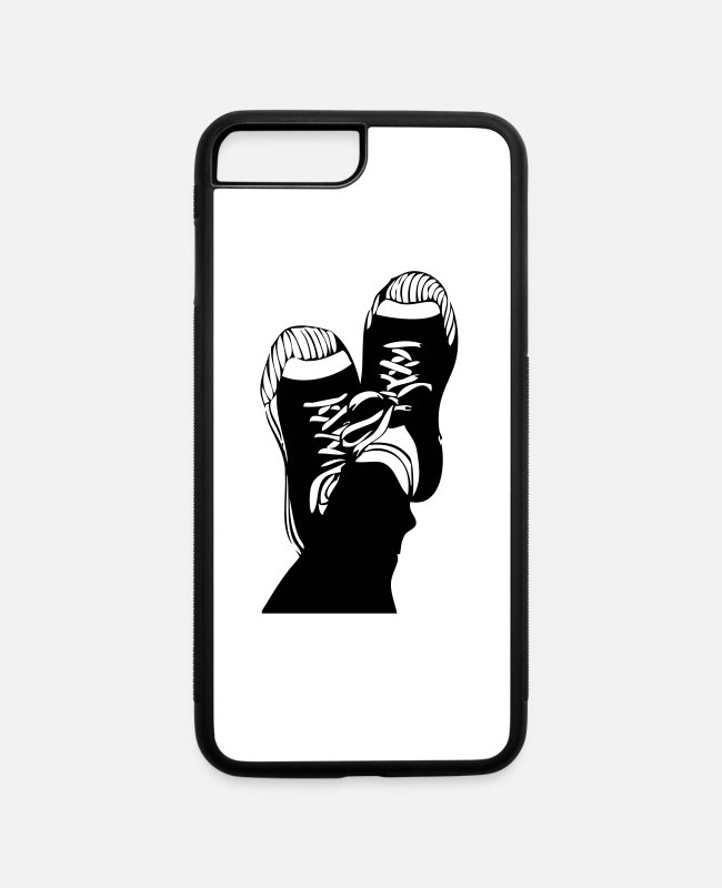 Vibes iPhone Cases - shoes - iPhone 7 & 8 Plus Case white/black