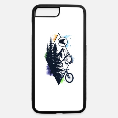 Cycling Bike In The Wild - iPhone 7 & 8 Plus Case