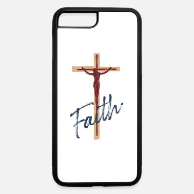 faith of jesus christ, chritian cross, god - iPhone 7 & 8 Plus Case
