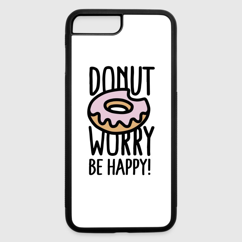 Donut worry Be happy! US - iPhone 7 Plus/8 Plus Rubber Case