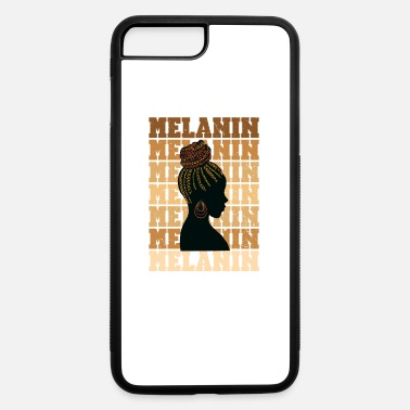 Woke Melanin Shades Natural Hair African American Histo - iPhone 7 & 8 Plus Case