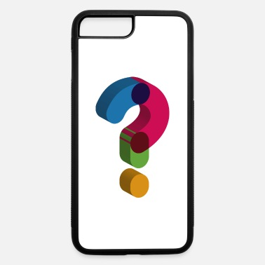 Mark Something question mark sign - iPhone 7 & 8 Plus Case