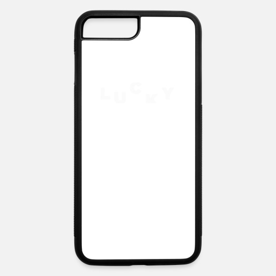 Lucky iPhone Cases - Lucky - iPhone 7 & 8 Plus Case white/black