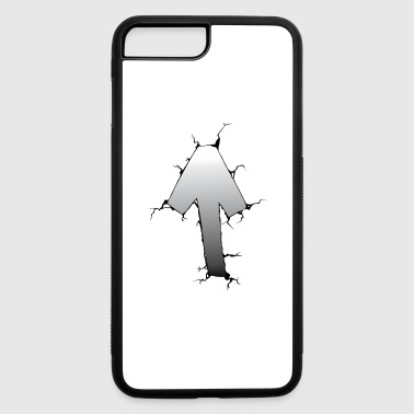 celtic tiwaz symbol nordic vikings - iPhone 7 Plus/8 Plus Rubber Case