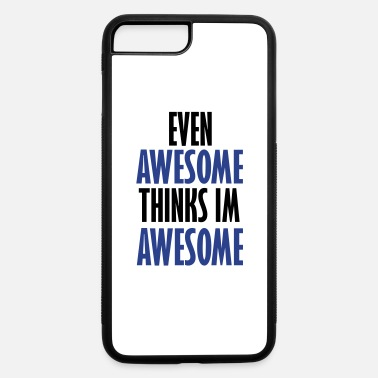 Evening even awesome - iPhone 7 Plus/8 Plus Rubber Case