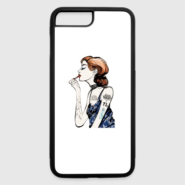 Artist Tattooed Makeup Artist - iPhone 7 Plus/8 Plus Rubber Case