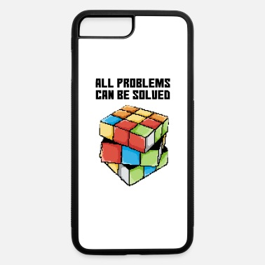 Cube Pixel art rubik - iPhone 7 & 8 Plus Case